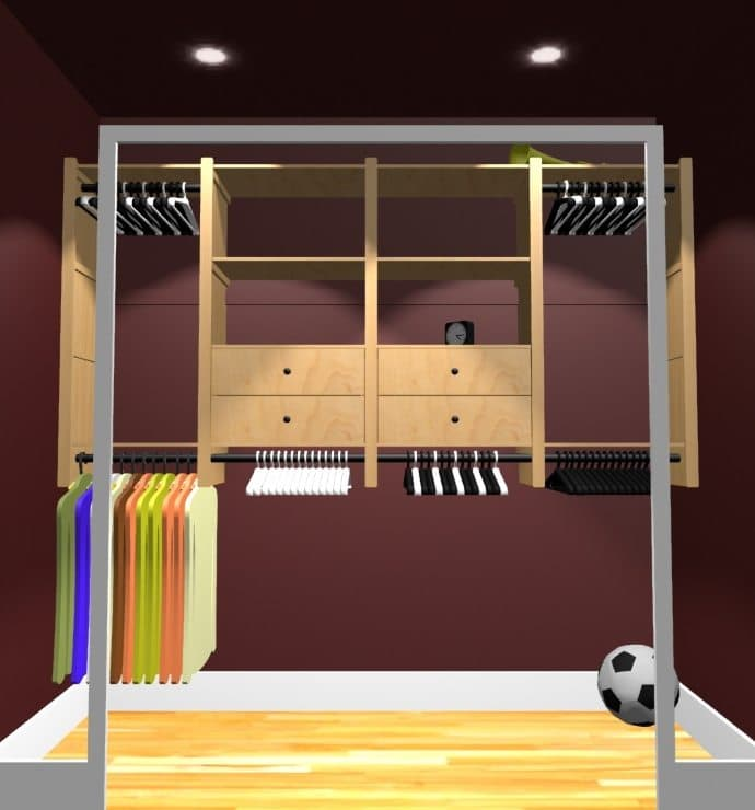 Closet Layouts Pro100 Design Software